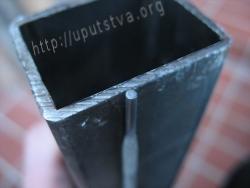odnos stjenke metala i elektroda za zavarivanje