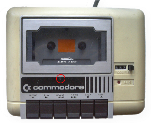 kazetar za commodore 64