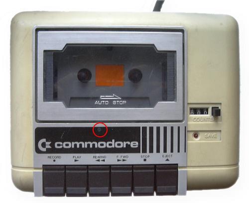 kazetar za commodore 64