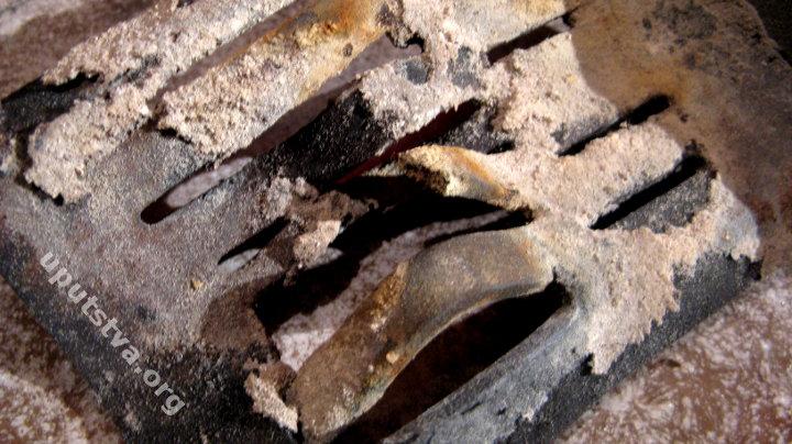 deformirana grill posuda za pelete