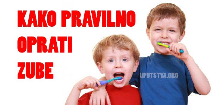 Čišćenje zuba kod djece, kada i kako?